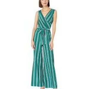 Anthropologie Pants & Jumpsuits - Anthropologie- Donna Morgan Sexy Striped Jumpsuit
